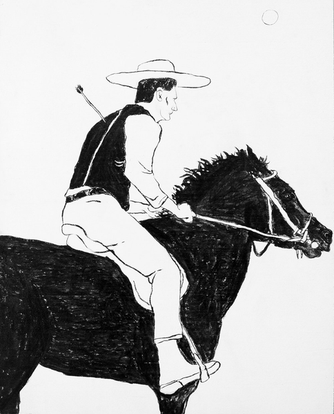 """Cowboy Series #1"" by Oliver Hawk"