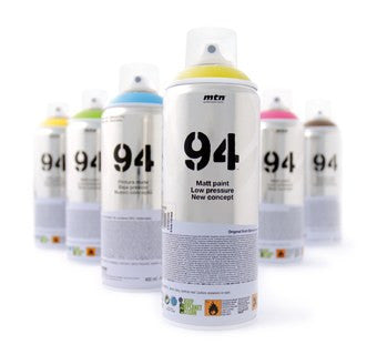 MTN 94 Spray Paint - Fluorescent Red