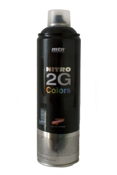 MTN Nitro 2G Spray Paint - Black