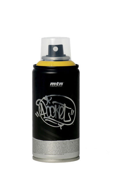 MTN Pocket Spray Paint - Black