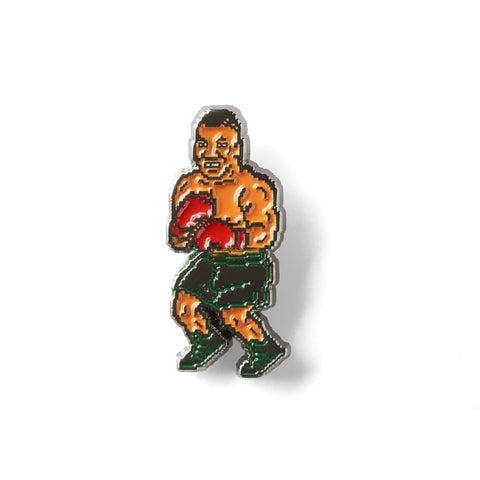 Punch Out Enamel Pin