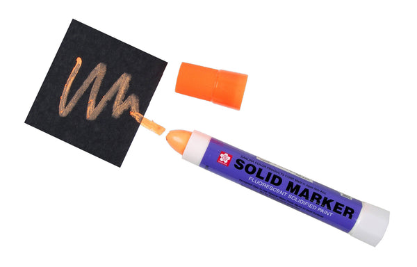 Sakura Solid Marker - Fluorescent Orange