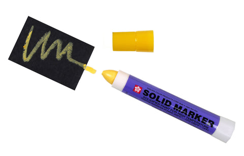 Sakura Solid Marker - Yellow