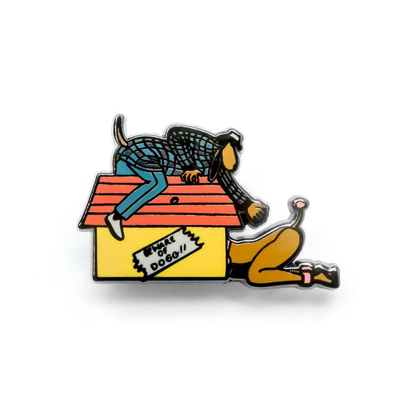 The Dogg House Enamel Pin