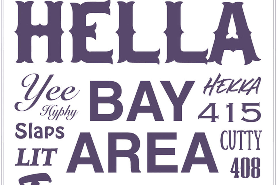 Mike Bam's Hella Bay Prints