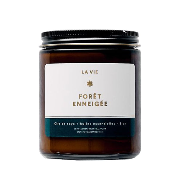40HR CANDLE - WINTER FOREST FRAGRANCE