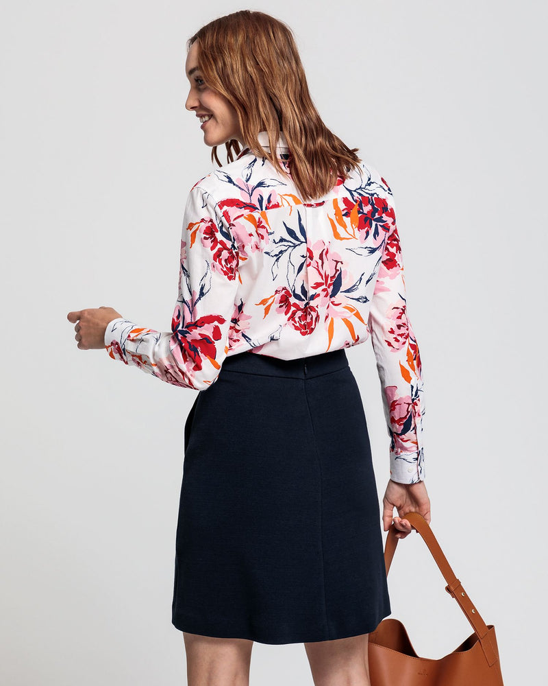 Peonie Cotton Voile Shirt