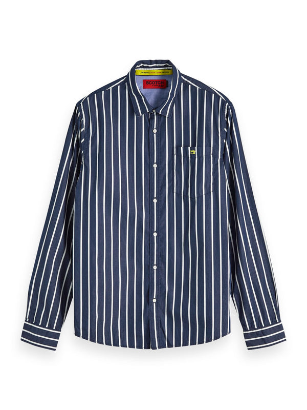 Regular Fit - Classic Breton Stripe Shirt