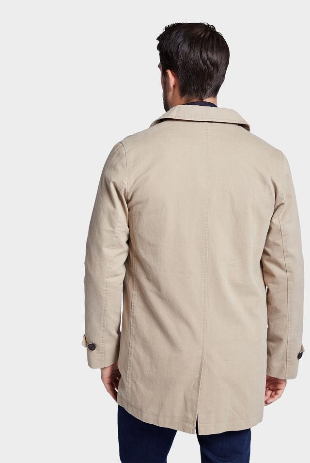 Collins Mac Jacket - Sandstone