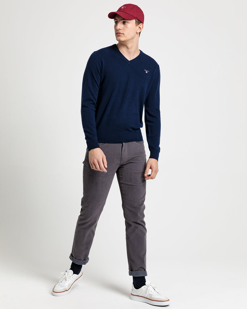 86212 Super fine lambswool v-neck