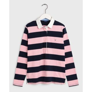 Original Barstripe Heavy Rugger - Preppy Pink.