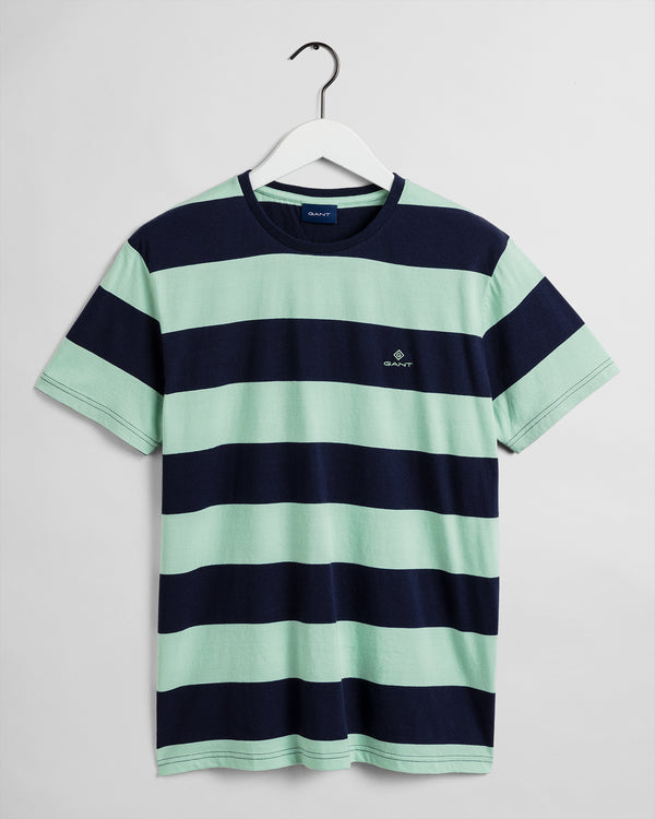 Barstripe SS T-Shirt - Breeze