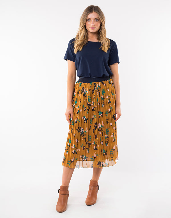 Freesia Pleat Skirt