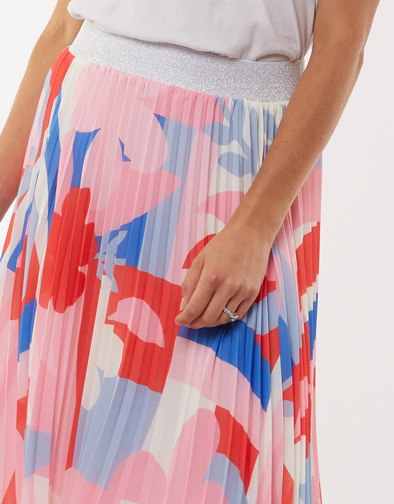 Infinity Pleat Skirt