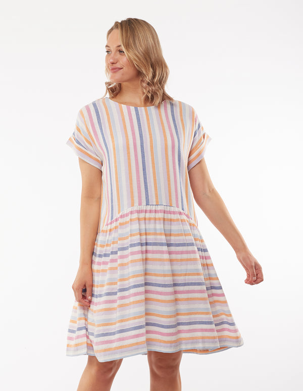 Sunset Stripe Dress