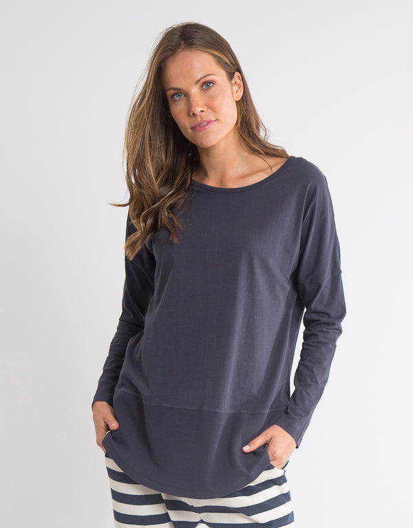 Fundamental Rib Long Sleeve Tee - Various Colours