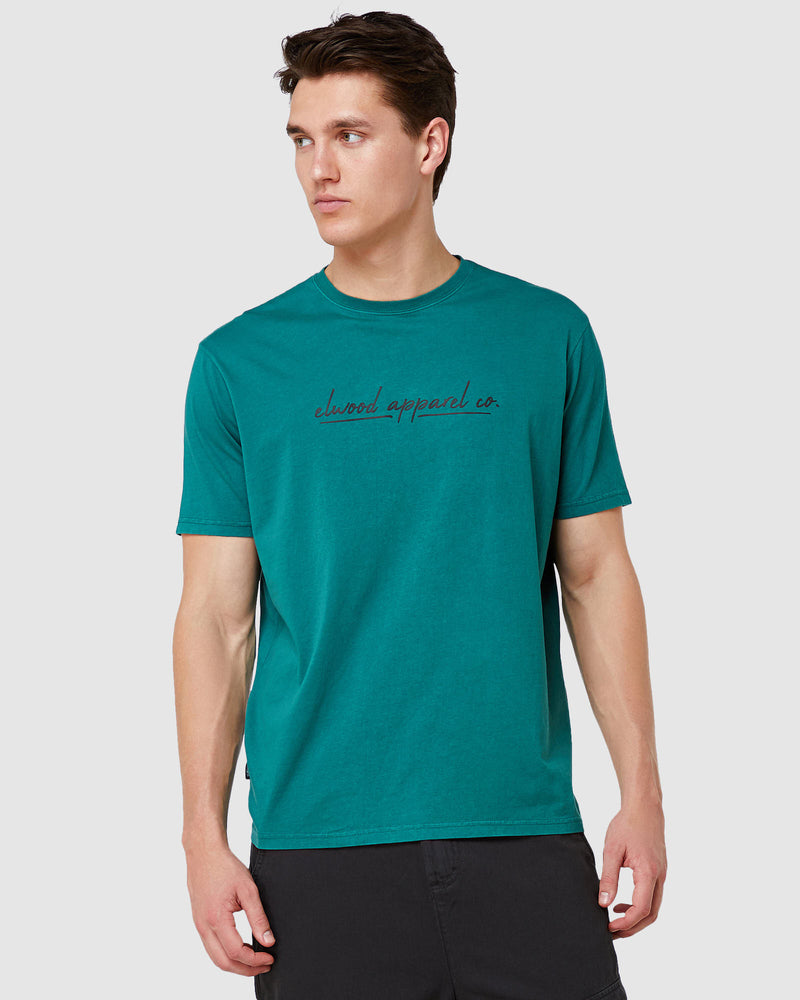 Carter Tee - Dark Green