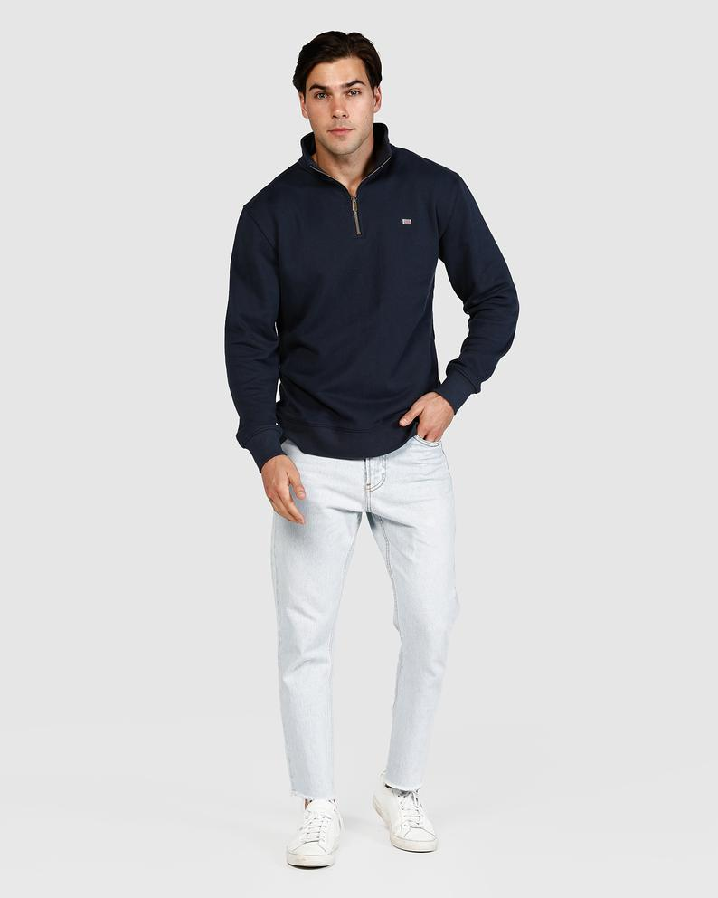 Quarter Zip - Navy