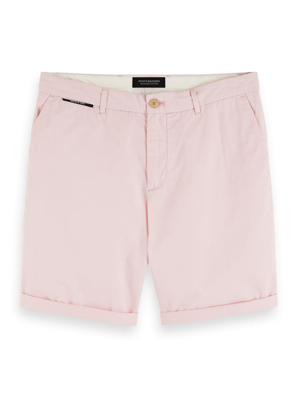 Classic Chino Short - Faded Pink & Blue