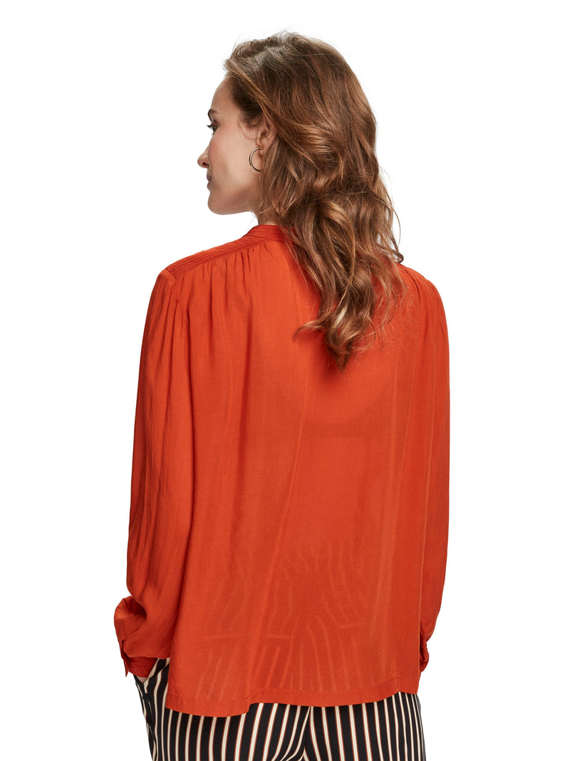 Viscose Top With Keyhole - 155926