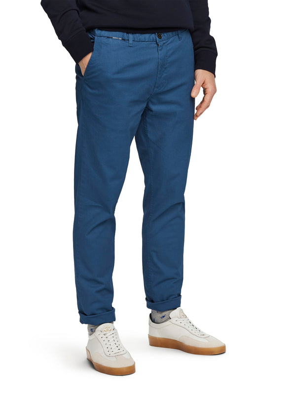 Stuart - Classic Regular Chino Worker Blue 155030