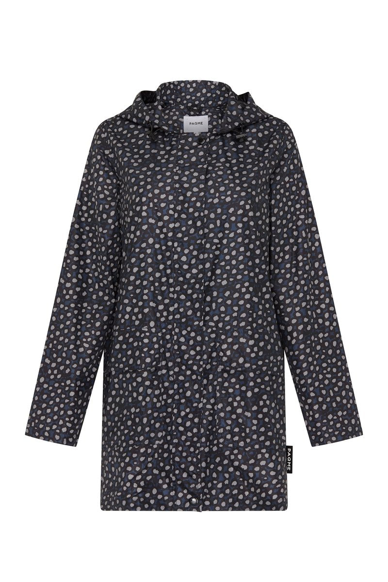 PAQME Raincoat - Pebble Blue