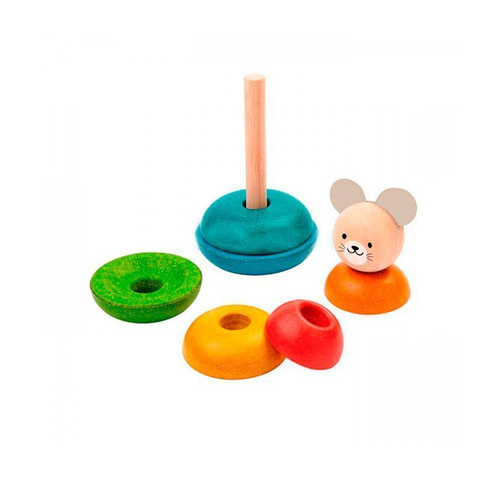Plantoys. Ratón apilable