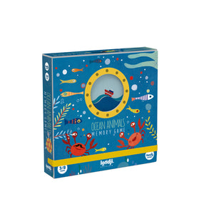 Cartas Ocean animals memory game