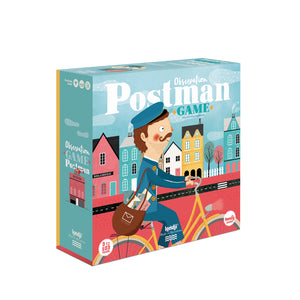 Puzzle Observation Postman game