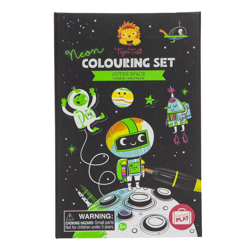 Colouring Set: Espacio