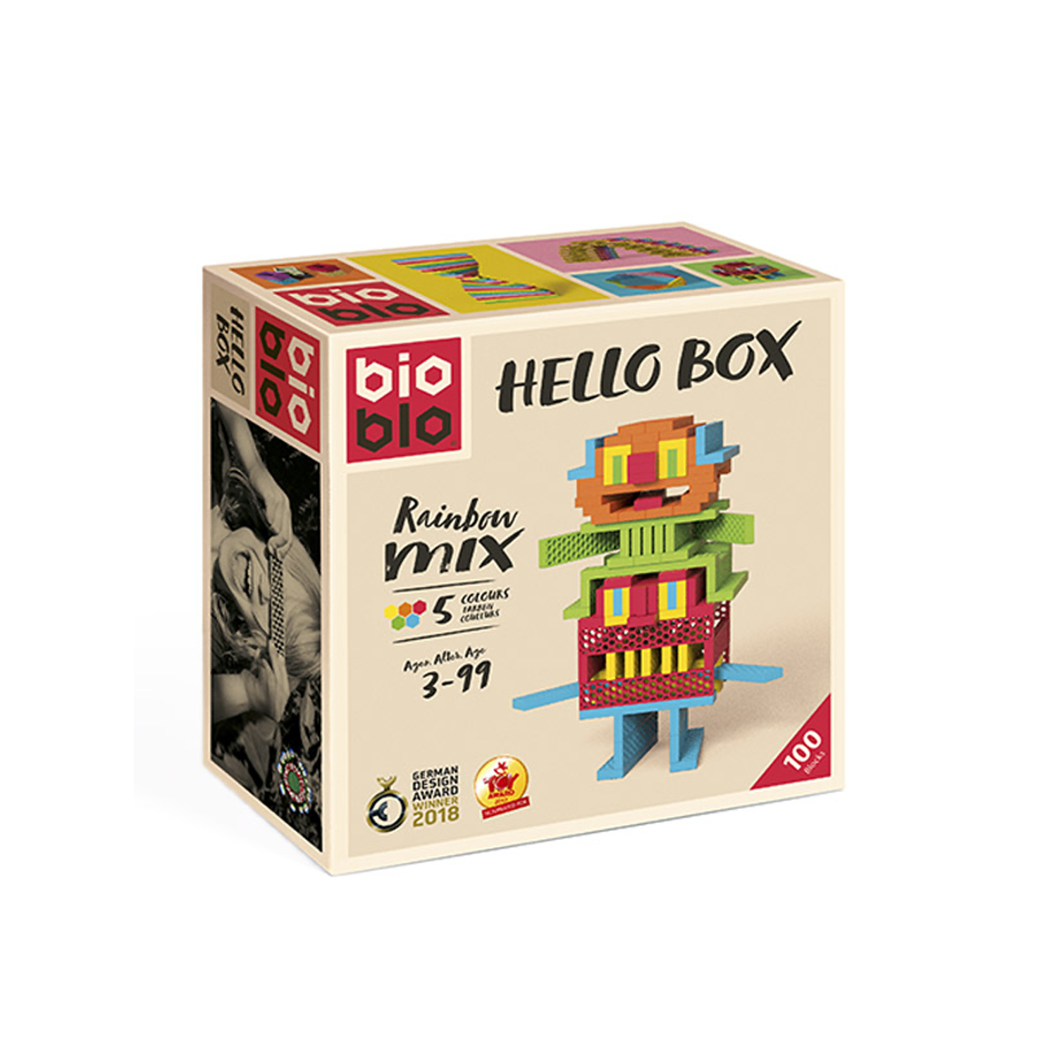 Bioblo. Hello box