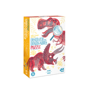 Puzzle discover the dinosaurs
