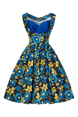 Blue Rose Madison Dress
