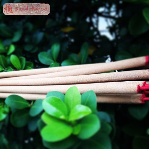 Grade C 全檀香<br>立香/大香 Large Incense Stick (8mm)