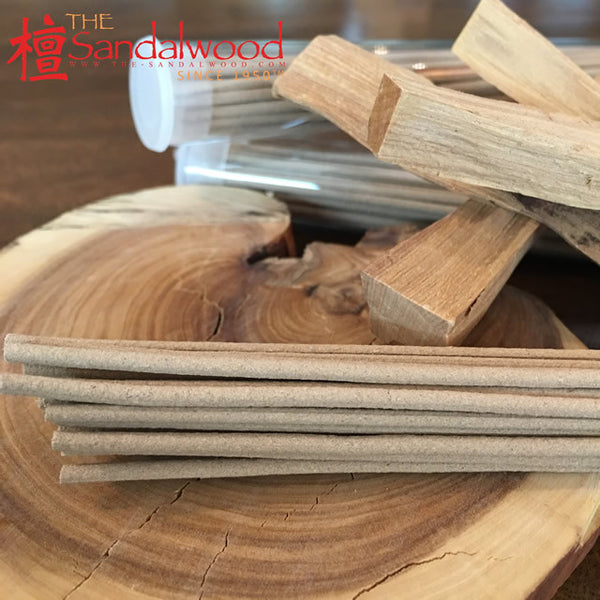 Grade A 纯檀香树头<br>卧香 Stickless Incense