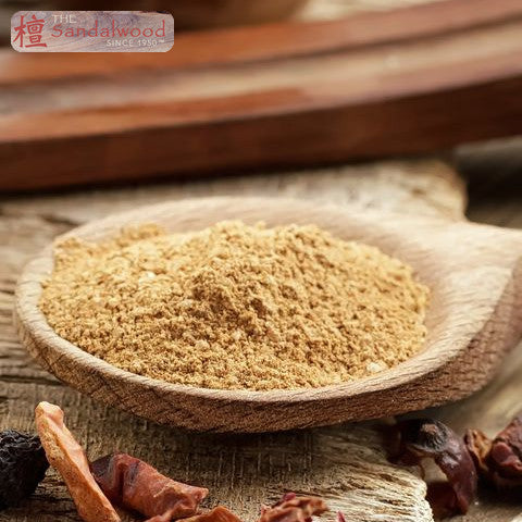 100% 纯天然檀香粉 <br>100% Pure Sandalwood Powder
