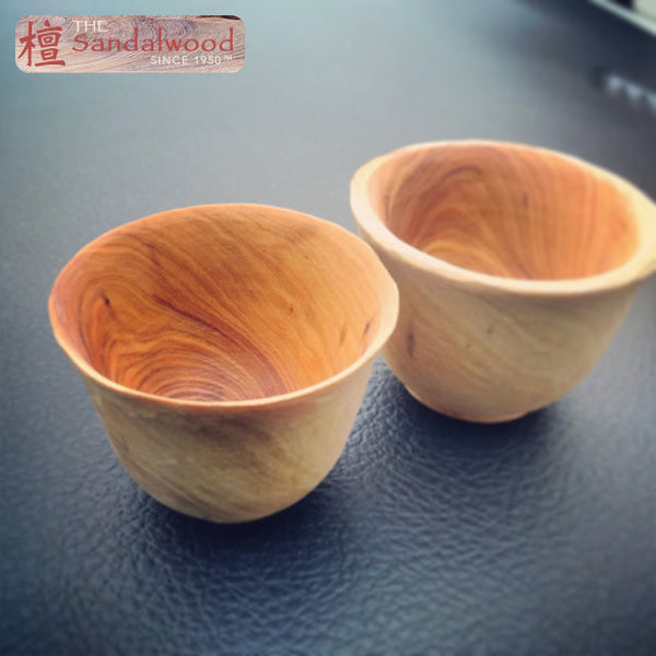檀香木茶杯<br>Sandalwood Tea Cup
