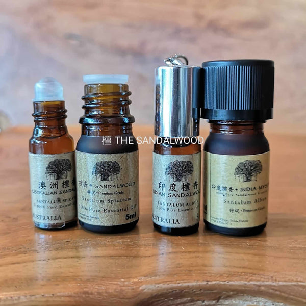 The Sandalwood Essential Oil