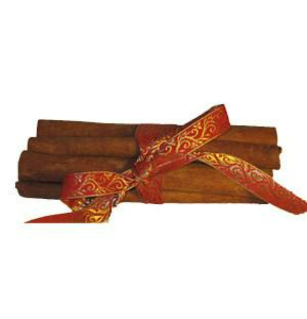 Bundle of Sweet Cinnamon Quills, Red/Gold  100g