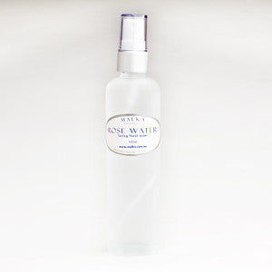 Rose Water Toner Spritz Organic 100ml