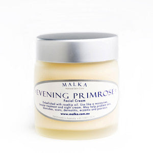 Natural Skin Care by Malka - for the face - Evening Primrose Cream 100g