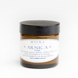Arnica Cream - Natural Skin Care by Malka - Itches Sprains & Aches