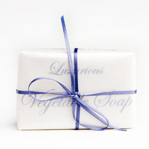 Luxurious Honey & Beeswax Soap - triple pack 300g gift wrapped