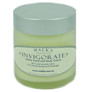 Invigorate - Organic Jojoba Hand & Body Cream