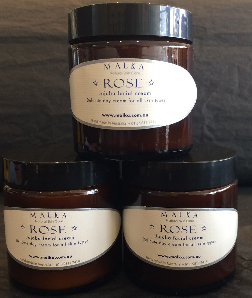 Rose Organic Jojoba Cream