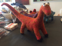 Dino-critters - felt, hand made in Healesville