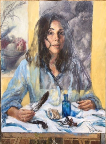 Self portrait, Capturing essence, Janet Hayes