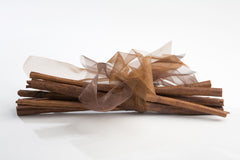 Sweet Cinnamon Bundle of Quills, 100g 22cm brown ribbon