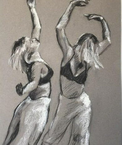 Contemporary Dancer 1, Janet Hayes