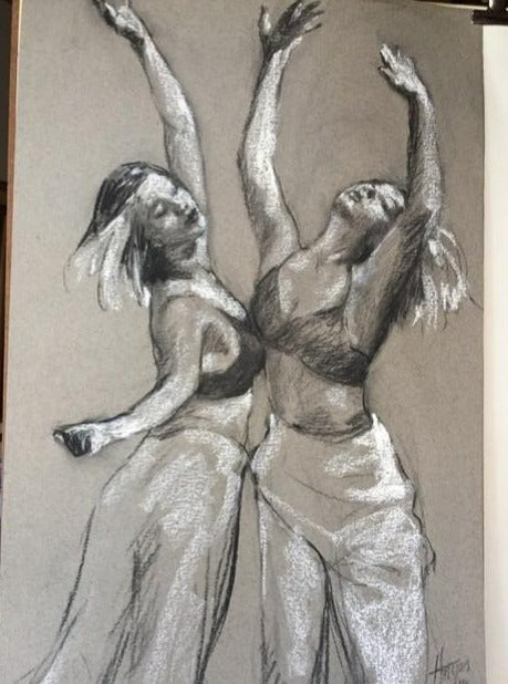 Contemporary Dancer 2, Janet Hayes